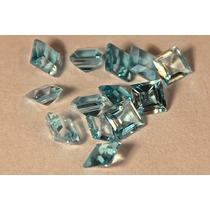 Rsp 1540 Topázios Blue Sky Quadrados Preço Por Pedra 0,46 Ct