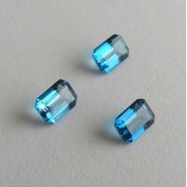 Topázio Natural London Blue Pedra Preciosa Preço 1 Gema 2841