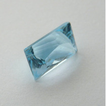Topázio Natural Pedra Preciosa Na Cor Sky Blue 2838