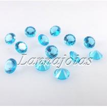 Topázio Azul Redonda Brilhante 20 Pedras 5mm Cada Fretegráts