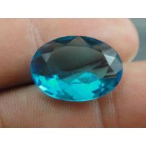 9 Cts Linda Turmalina Azul Neon Oval Extra