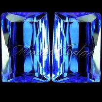 6cts Lindo Azul Intenso Par Pedra Quartz Tanzanita Fretgráts