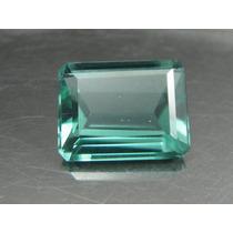 9 Cts Linda Turmalina Verde Neon Retangular