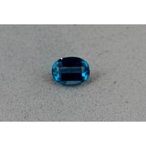 Lindo 134 Topázio Azul Londrino Criação Livre De 3,5 Ct