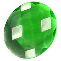 Almofada Oval Quartz Verde Esmeralda 4.74cts Frete Grátis