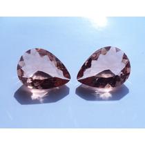 Frete Grátis - Lindo Cristal Morganita 20 X 15 - 2 Pedras