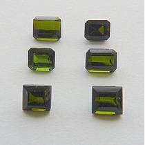 Turmalina Natural Pedra Preciosa Lote Com 6 Gemas 3089
