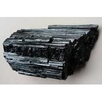 Pedra Turmalina Negra Bruta Linda! Proteção /xô Negatividade