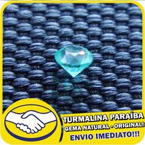 Turmalina Paraíba Azul Neon - Pedra Original - Gema Natural