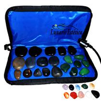 Kit Para Massagens C/ Aquecedor 30 Pedras Quentes 110v