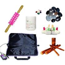 Rolo Massagem/ Pedras Quentes/ Pindas/ Bambu/ + Bolsa110v