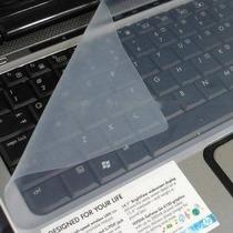 Película Protetora Teclado Notebook Em Silicone Universal