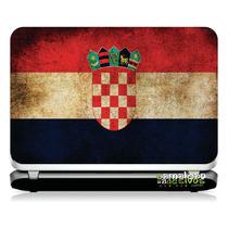 # 20 Adesivo Notebook Bandeira Croácia (14,1