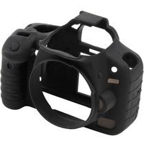 Capa Protetora De Silicone Para Canon T3i / 600d - Emania