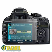 2 Película Protetora Nikon D5100 Lcd Screen - Tafacil 31719