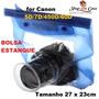 Bolsa Estanque Grande Para Cameras Canon E Semilares