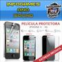 Pelicula Para Iphone 4 4s Frente & Verso Fosca (na Cartela)