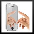 Frete Grátis Pelicula Protetora Espelhada Iphone 2g 3g E 3gs