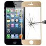 Película Ouro Vidro Temperado Apple Iphone 5s / 5c / 5 Top!