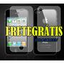 Pelicula Protetora Iphone4/4s Frente/verso Fosca Fretegratis