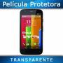 Película Para Moto G Motorola Celular Transparente