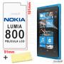 Película Protetora Tela Nokia Lumia 800 + Frete Grátis
