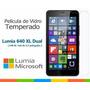 Kit Com 2° Película De Vidro Temperado Lumia 640 Xl Tela 5.7