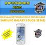 Película Fosca Anti-reflexo Para Samsung S7562 Galaxy S Duos