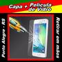 Capa Samsung Galaxy A3 + Película De Vidro - Poa / Rs