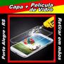 Capa Samsung Galaxy S4 Mini + Película De Vidro - Poa / Rs