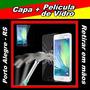 Capa Samsung Galaxy E5 + Película De Vidro - Poa / Rs