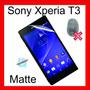 Película Sony Xperia T3 - Fosca Anti Reflexo E Digitais