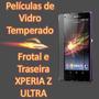 Película Frente E Verso De Vidro Temperado Xperia Z Ultra
