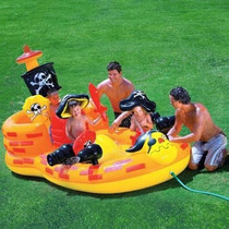 Piscina Inflável Navio Pirata Infantil Intex Ri