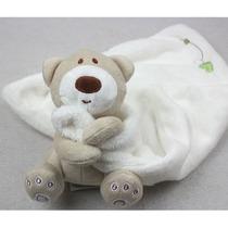 Naninha Urso De Pelúcia Cobertorzinho Macio Para Bebê