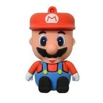 Pen Drive Personalizado Super Mario Bross, 8gb De Memória.