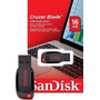 Pendrive Sandisk 16gb Cruzer Blade 100% Original E Lacrado