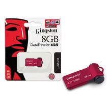 Pen Drive Mini Kingston Dt108 8gb - Frete Grátis