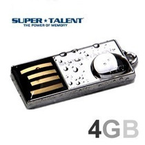Mini Pen Drive Pico C 4gb Super Talent / A Prova Dagua