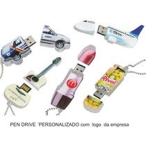 Pen Drive Personalizados Com Logos , Nomes Para 20 Pças