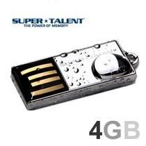 Mini Pen Drive Pico C 4gb Super Talent / A Prova Dagua!!!!