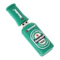 Pen Drive 2gb Forma De Heineken Envio Imediato