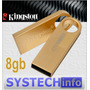 Pen Drive 8gb Kingston Ge9 Gold - Original Capacidade Real