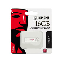 Pen Drive 16gb Kingston Dt109 Branco Original Lacrado