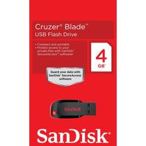 Pen Drive Sandisk / Usb Flash Drive Cruzer Blade Z50 - 4gb