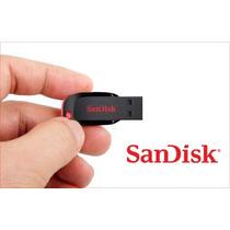 Pen Drive 64gb Sandisk Cz50 Cruzer Original + Frete Gratis