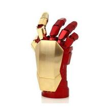 Pen Drive 64 Gb - Mão Iron Man 3 - Dourado - Frete Grátis