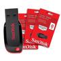 Pen Drive Sandisk 8gb Cruzer Blade Lacrado 100% Original