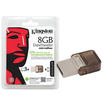 Pendrive 8gb Dtduo/ Dt Microduo E Microusb 2.0 Otg Kingston