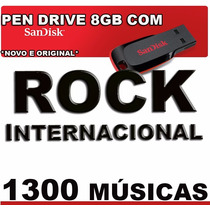 Pen Drive Music 1300 Rock Internacional